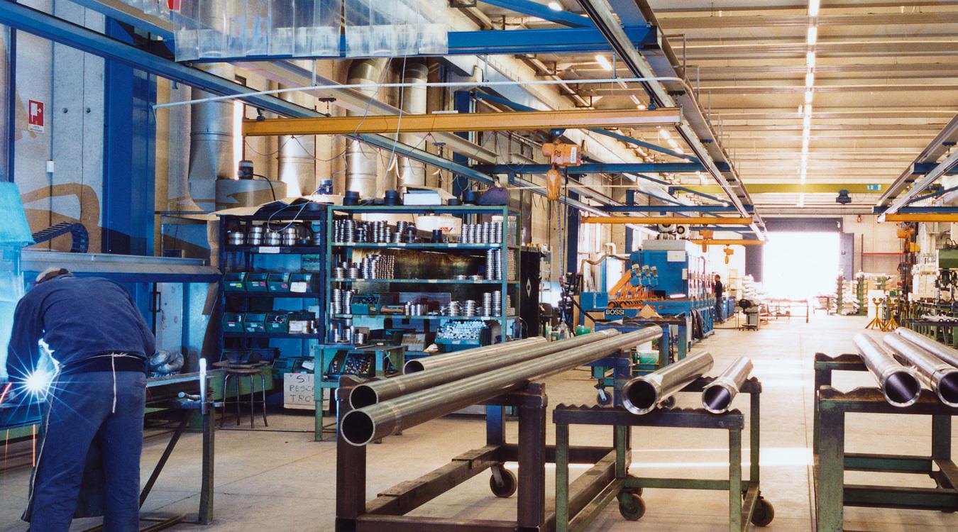 Abteilung Kolben und Hydraulikeinheiten